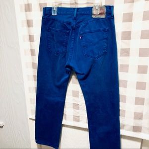 Levi's 501 Original blue Jeans w/button fly 34x30